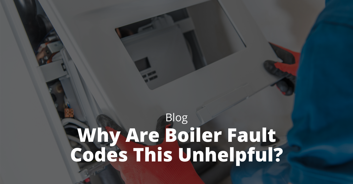 Why Are Boiler Fault Codes This Unhelpful?