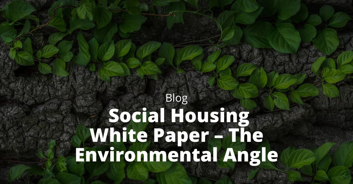 Social Housing White Paper – The Environmental Angle