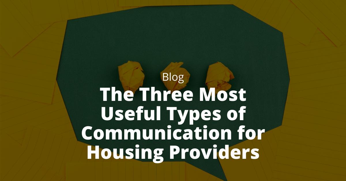 useful types of communication
