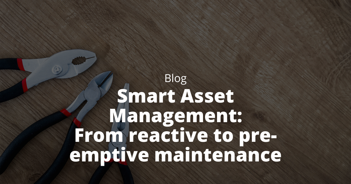 from reactive to pre-emptive maintenance