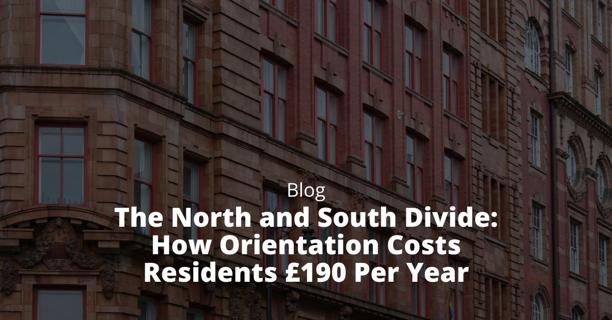 North and South Divide: How Orientation Costs Residents £190 Per Year