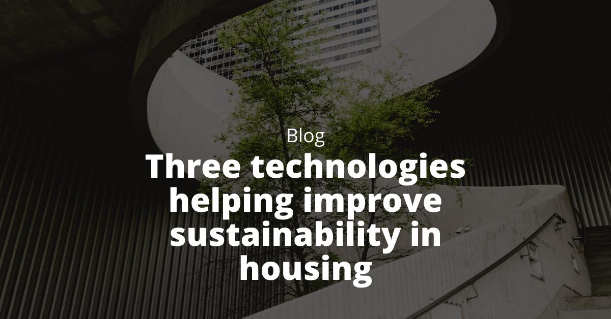 technology improving sustainability