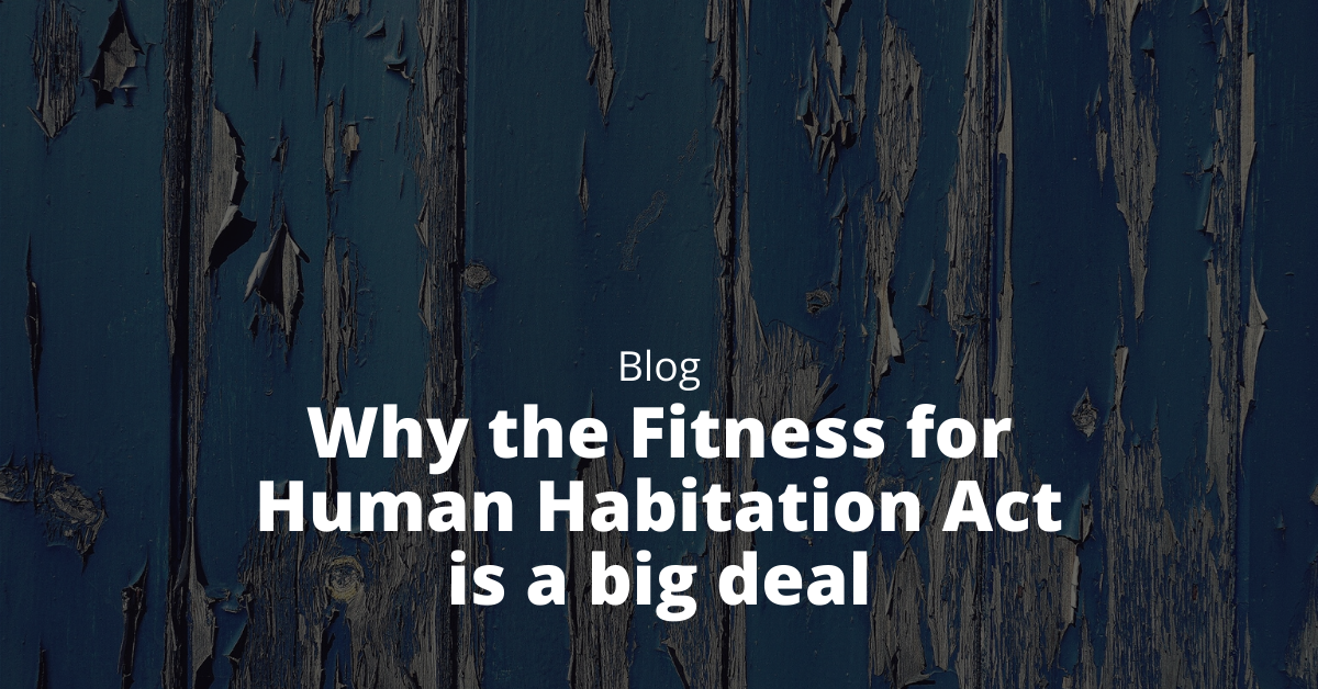 fitness for human habitation issues