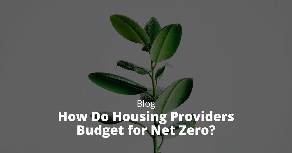How Do Housing Providers Budget for Net Zero